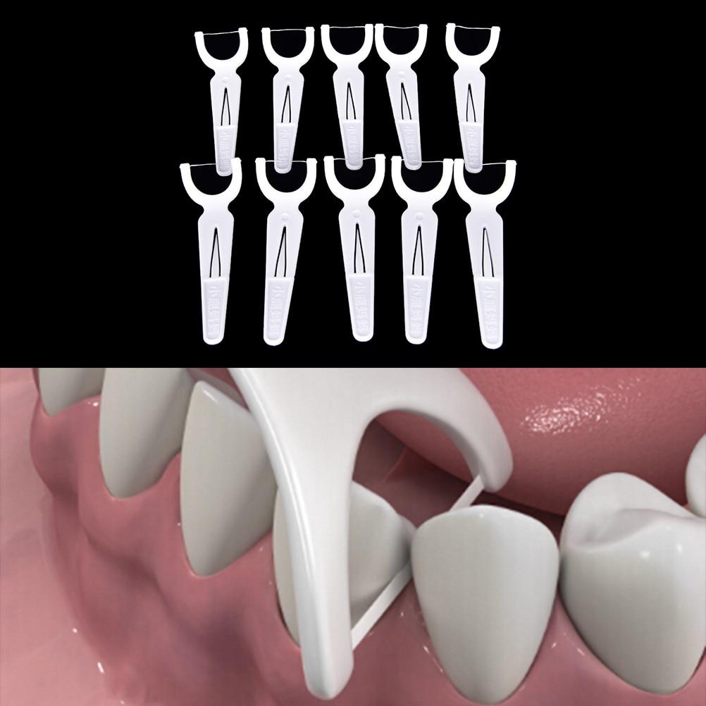 Высокое качество, плоская зубная нить, зубочистка, чистка зубов, 30 шт./коробка, межзубная щетка, зубная нить, зубочистка, зубочистки