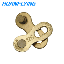 SUMC12 Speed Missing Link Reusable Bike Chain Connector 12 Quick Master Links Joint Repair Chains Buckles