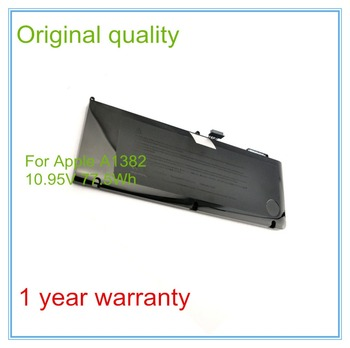 "Original A1382 Battery For Pro 15"" A1278 Unibody (Early 2011/Late 2011/Mid 2012) 10.95V 77.5Wh"