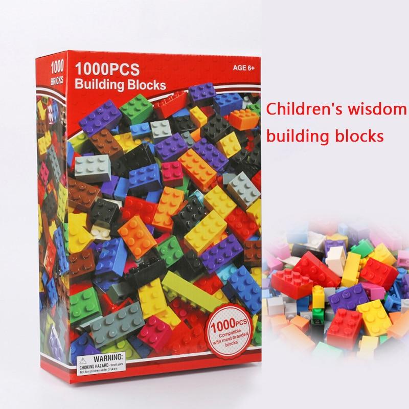 buy 1000 small particle blocks compatible all kinds of brand diy kindergarten. Black Bedroom Furniture Sets. Home Design Ideas