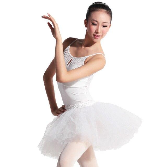 50012d8980 Ginástica maiô ginástica leotard ballet tutu dança saia vestido de dança  plana corpo terno macacão swimwear