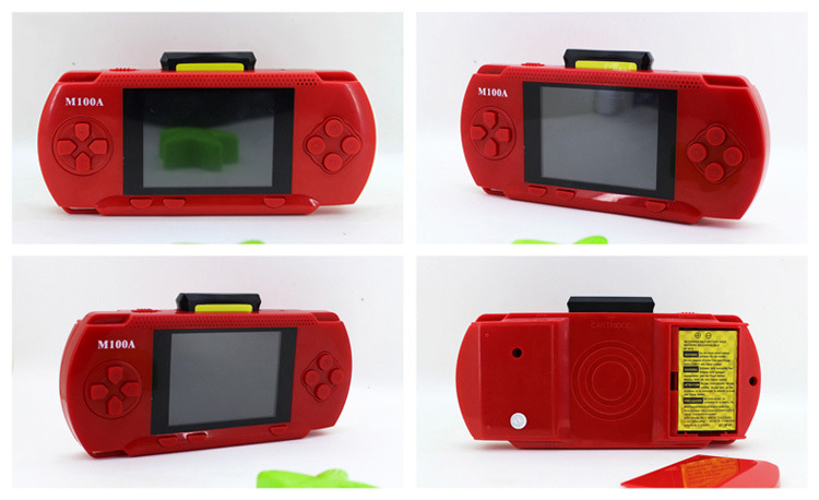 Handheld Children Student GamePad Player 4.3 inch Colorful Display Game Console 6