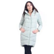 2018 Winter New Fashion Long Coat Slim Thickened Turtleneck Warm Jacket Cotton Padded Zipper Plus Size