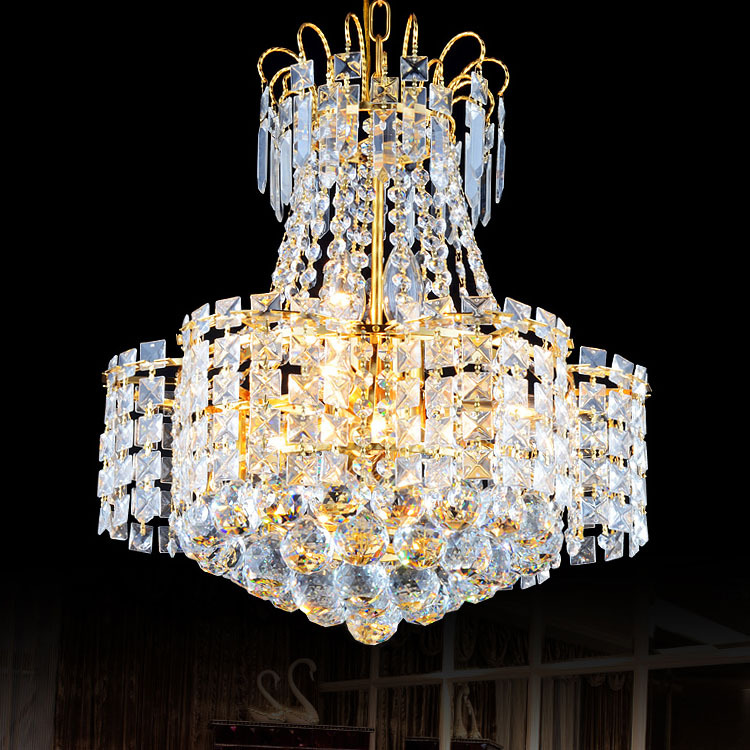 Modern Crystal Chandelier Led crystal Chandelier ceiling fixtures e14 Lustres Cristal de Lighting Fixture
