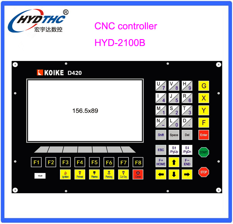 Koike Cnc Cutting Controller System For Plasma Flame