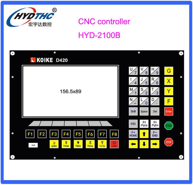 Koike CNC cutting controller system for plasma/flame cutting