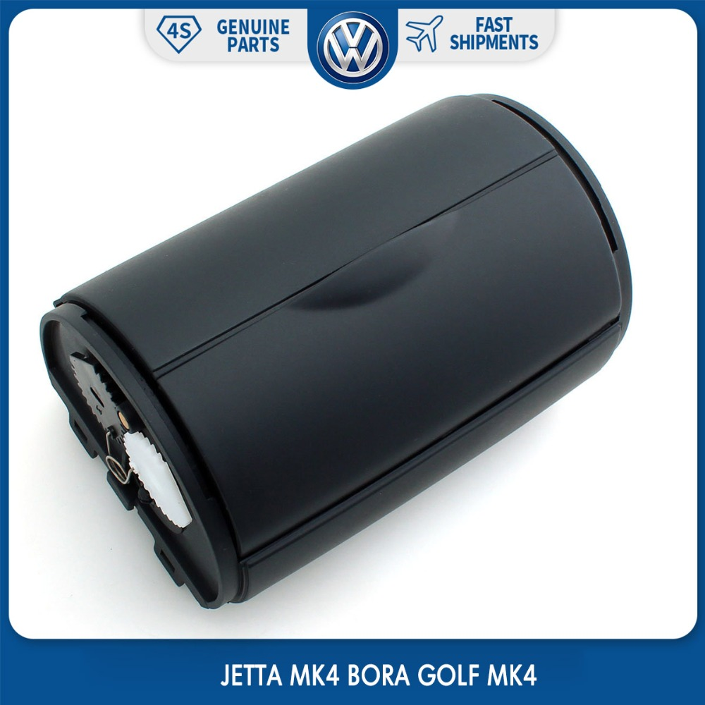 Black 1J0 857 962 H OEM Rear Ash Tray Bin Ashtray for VW Volkswagen JETTA MK4 BORA GOLF MK4 oem glove box storage compartment light lamp for vw golf jetta mk4 bora 1j0 947 301 1j0947301