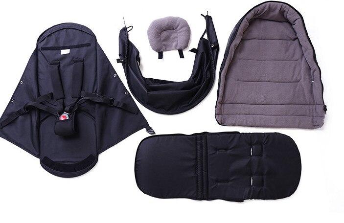 0 ~ 6 mois panier de couchage pour bébé poussette (besoin d'acheter avec poussette ensemble) 6 couleurs en stock panier de couchage nid de bébé - 4