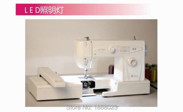 Domestic Computerized Sewing Machine Embroidery MachineComplete Delectable Domestic Sewing Machines