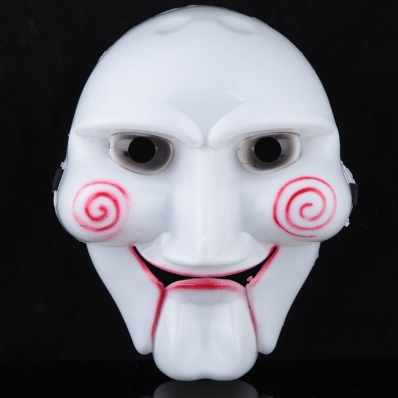 scary halloween mask horror killer mask halloween costume party supplies high quality pvc saw theme - Scary Halloween Masks Images