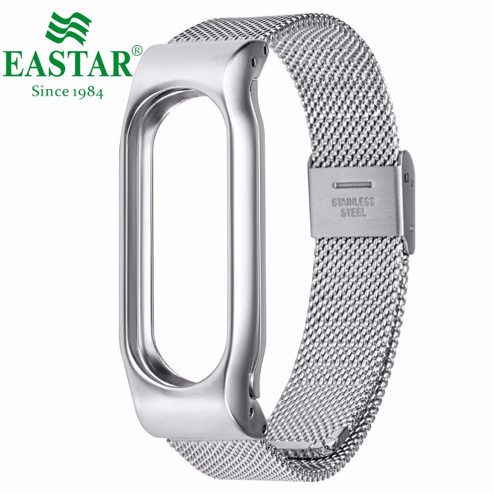 Milanese Loop Band Stainless Steel For Mi Band Xiaomi Wristband Strap Meatal Bracelet Replace Wristbands Strap For Mi Band 2