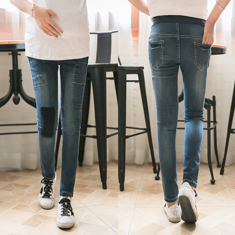 Winter Maternity Clothing Jeans High Waist Denim Pants Pregnancy Clothing For Pregnant Women 2018 Maternity Trousers стоимость