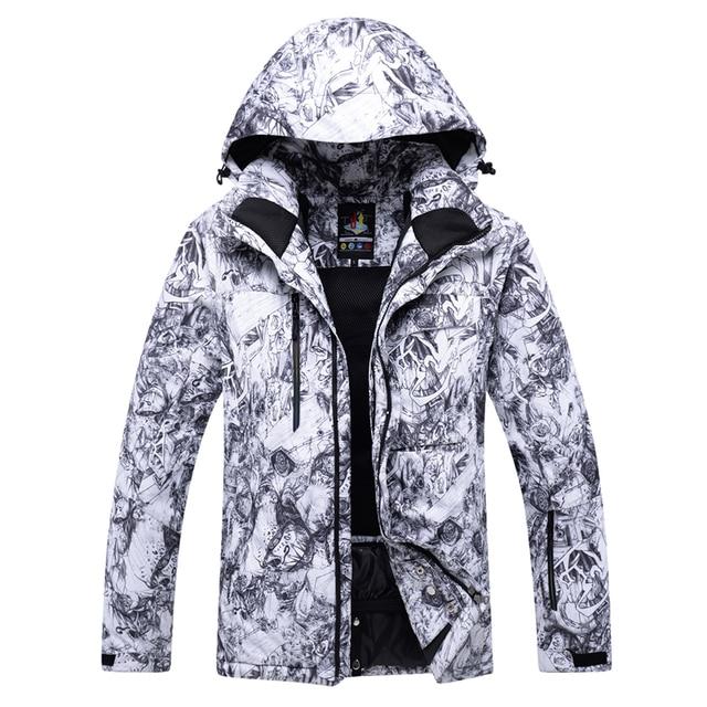 77cba4cf2 Aliexpress.com : Buy 2018 NEW Snowboarding Jackets Winter Men's Snow ski  Jacket skiing outdoor wear thick Breathable Waterproof Windproof Warm from  ...