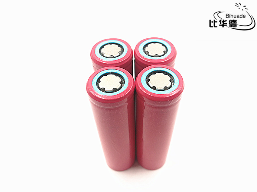 4pcs/lot Good Qulity 100% New Original Sanyo 18650 2600 mAh 3.7V Rechargeable lithium battery UR18650ZY