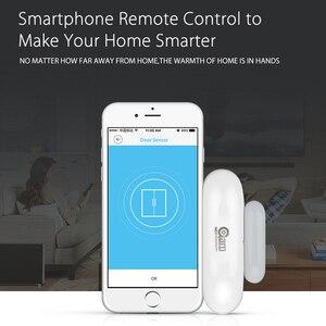 Image 5 - 1/2/3/4 шт./лот NEO COOLCAM Wi Fi умный датчик двери окна Сенсор приложение уведомления безопасная домашняя дверь/оконный датчик