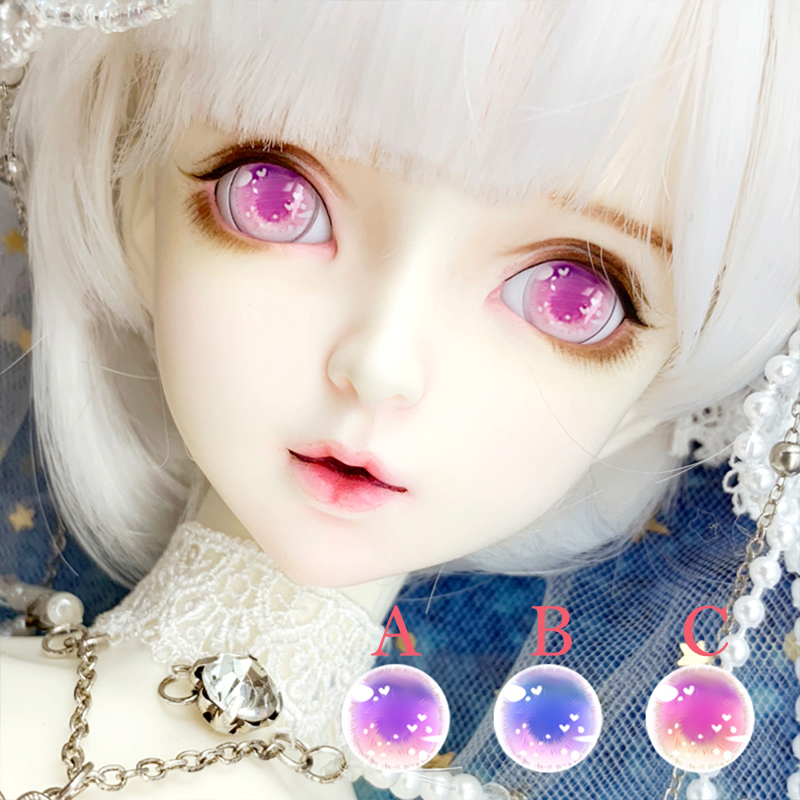 <font><b>BJD</b></font> eyeballs 10-14-18-24mm SD doll <font><b>eyes</b></font> with mirror light effect for 1/8 1/6 1/4 <font><b>1/3</b></font> <font><b>BJD</b></font> DD SD doll <font><b>eyes</b></font> doll accessories image