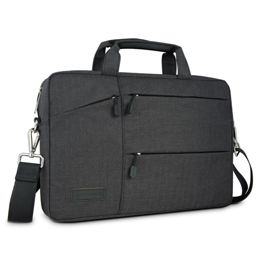 GEARMAX Laptop Messenger Bag for MacBook Pro 13 Inch+Free Keyboard Cover for MacBook 13 Waterproof Canvas Notebook Bag for Dell