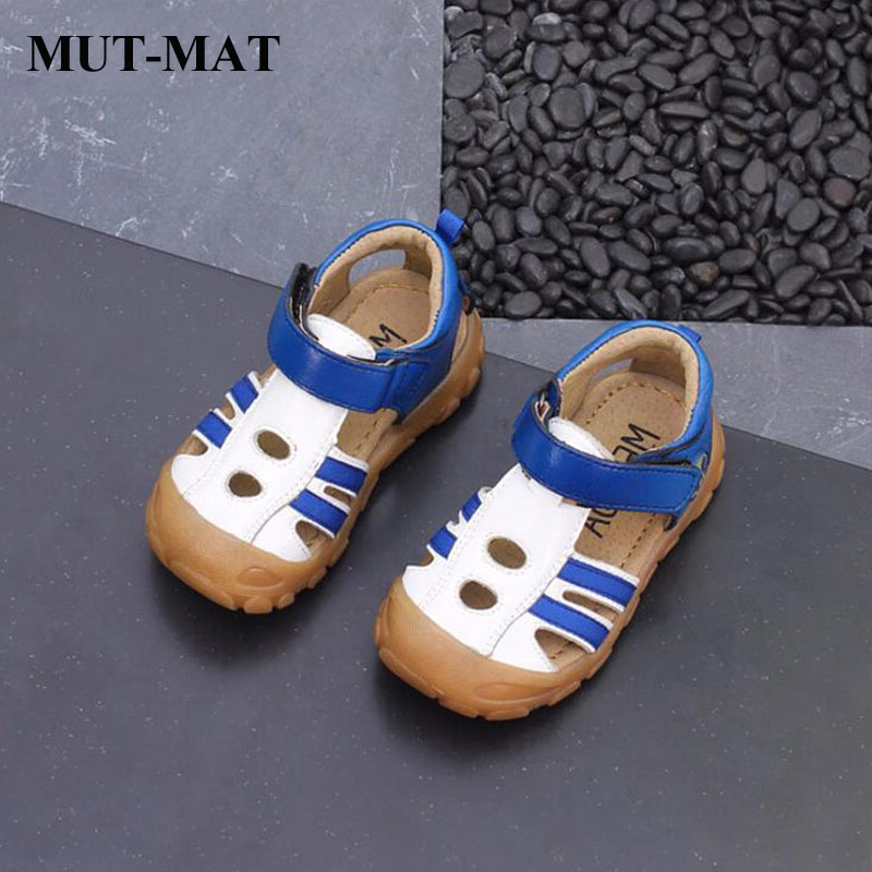 2019 summer new genuine leather children sandals boys  girls  casual head wrapped beach sandal beef tendon soft bottom sandals2019 summer new genuine leather children sandals boys  girls  casual head wrapped beach sandal beef tendon soft bottom sandals