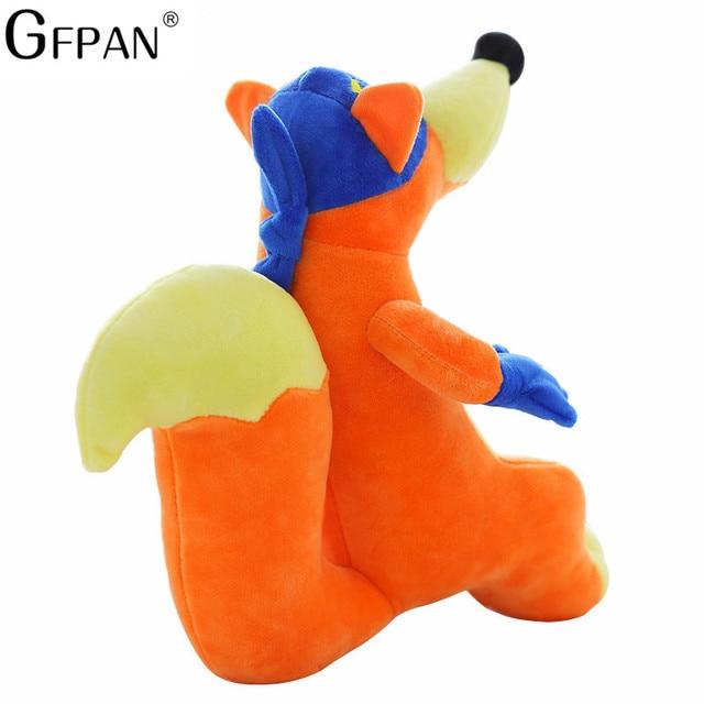 1 pc 25 cm mignon Dora/bottes singe/renard jouets en peluche rembourrés aventure amoureuse authentique des poupées Dora jeux télé et films pour cadeau enfants
