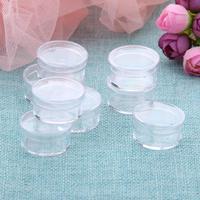 Vide 50 Espace Nail Art Poudre Gems Strass Bijoux De Stockage Conteneur Box Case Plaque En Plastique Outil de Manucure