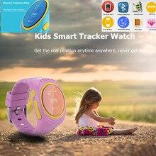 Smartphone Uhr Kinder Für Kinder SOS Notfall GSM GPRS GPS Locator Tracker Anti-verlorene Smartwatch Kind Schutz für iOS Android