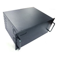 4U Serial Chassis case galvanized sheet metal sheet box 1mm thickness DIY NEW custom service