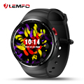 Mtk6580 lemfo les1 android 5.1 1 gb/16 gb smart watch phone com câmera de 2.0 mp