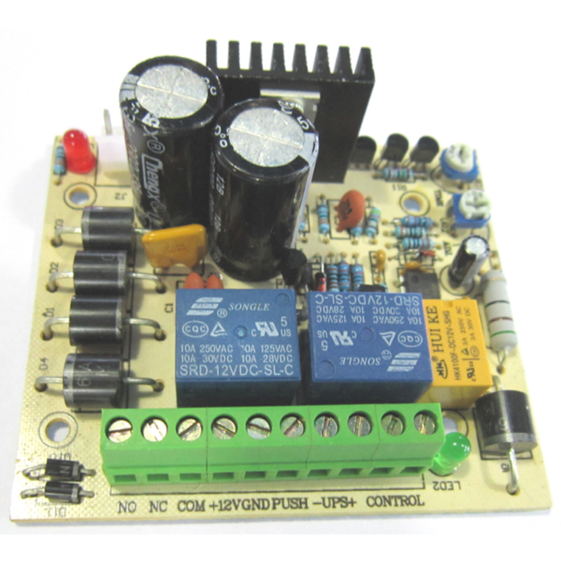 UPS 12V With UPS And Charging Protection PCB Access Control Power Supply PCB