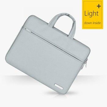 New Waterproof Laptop Bag for Macbook Case Air 13 Pro 13 Retina Bag Women Men Solid 12 13.3 15.6 inch Mac Book Air 13 Case Cover