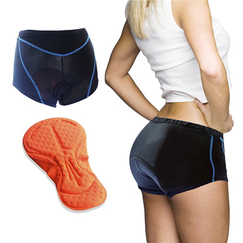 ILPALADINO Coolmax 3D Gel Pad Cycling Shorts For Women Bicicleta Shorts Bicycle Underwear Comfort Breathable Bike Sportware