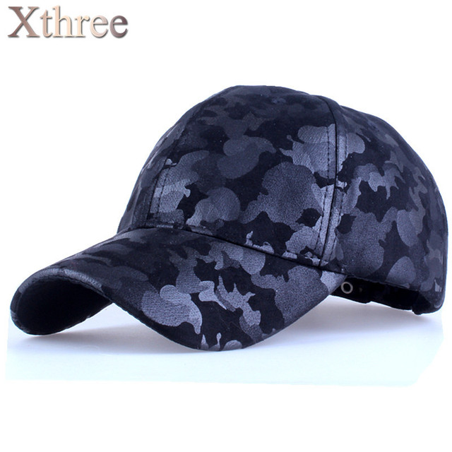 Xthree камуфляж бейсболка армии snapback Шляпы для мужчин Шапка женщин gorra casquette папа hat Оптовая