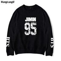 Wangcangli BTS Bangtan Boys Sweatshirt Men Oversize Sweatshirt Black Men Hoodies Sweatshirts Long Sleeve Kpop Hoodies
