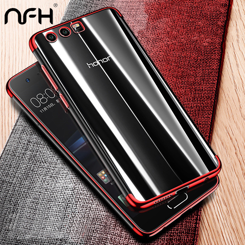 NFH Ultra Thin Soft transparent TPU Case For Huawei Honor 9 Lite silicone Case Cover On Huawei Honor 9 Phone Bag Case
