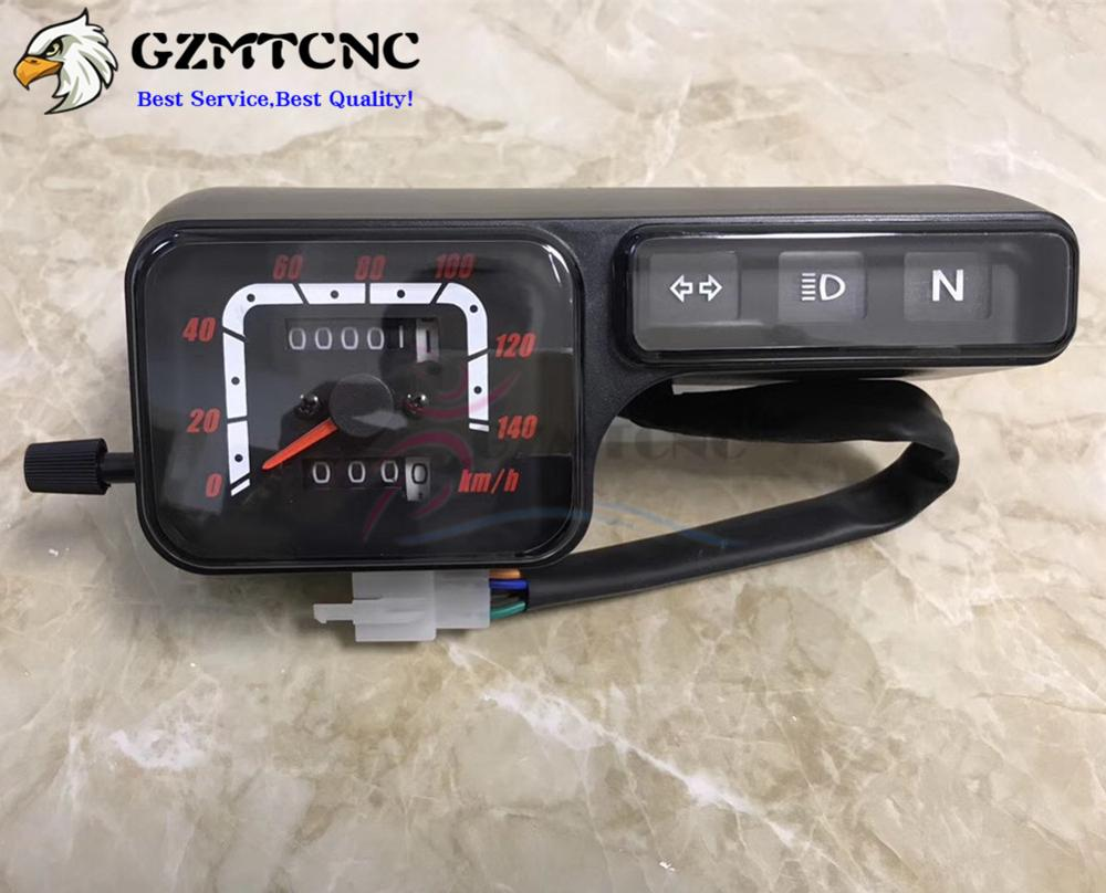 DC 12V Speedometer/Kilometer Gauge Tachometer Assembly W/ Turn Light/Headlight Indicator For Honda XLR125 XL250 NXR150 Bros
