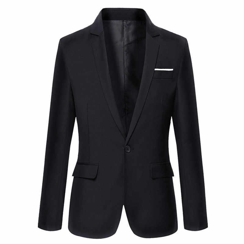 FGKKS качество бренда мужские деловые костюмы осень 2019 г. Для Мужчин's смокинги для женихов формальных случаев пальто мужской заказ мужчин s к