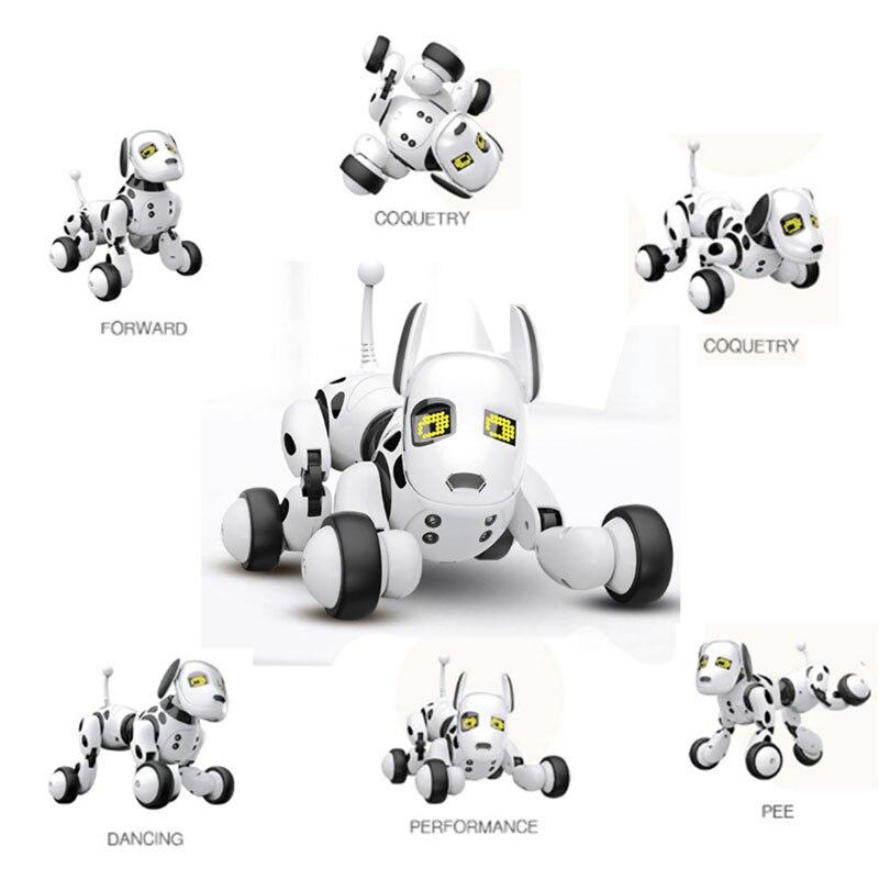 9007A Smart Robot chien 2.4G télécommande sans fil enfants jouet Intelligent parlant Robot chien jouet électronique Pet cadeau d'anniversaire