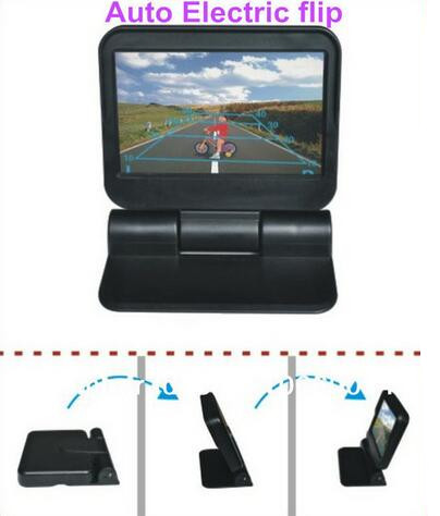 automatic car parking 5 monitor HD parking rear view flip monitor( automatic open+ close) on DVD VCR CCTV энциклопедия таэквон до 5 dvd