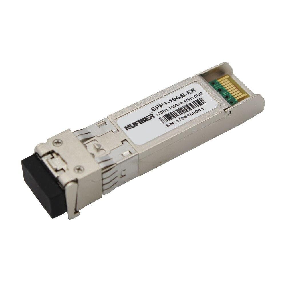 10Gb/s SFP+ Transceiver SFP-10G-ER dual fiber singlemode 40km 1550nm LC DDM10Gb/s SFP+ Transceiver SFP-10G-ER dual fiber singlemode 40km 1550nm LC DDM
