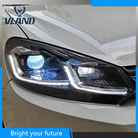 Golf 7.5 Style Head Lamps for Volkswagen Golf 6 Gti MK6 Headlights 2009 2010 2012 for GOLF 6 LED Head Lamp
