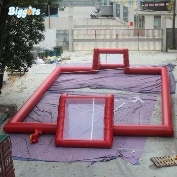 Смешные надувные футбольные поля для улицы надувные футбольные спортивные китайские Надувные Мыло для футбола на продажу
