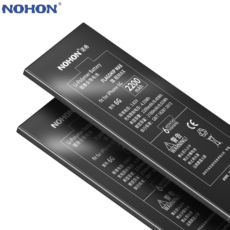 NOHON For iPhone 6 6G 7 7G 8 8G 5 5G 4 4G Phone Battery iPhone5 iPhone6 iPhone7 Replacement Batteries Lithium Polymer Free ToolsNOHON For iPhone 6 6G 7 7G 8 8G 5 5G 4 4G Phone Battery iPhone5 iPhone6 iPhone7 Replacement Batteries Lithium Polymer Free Tools