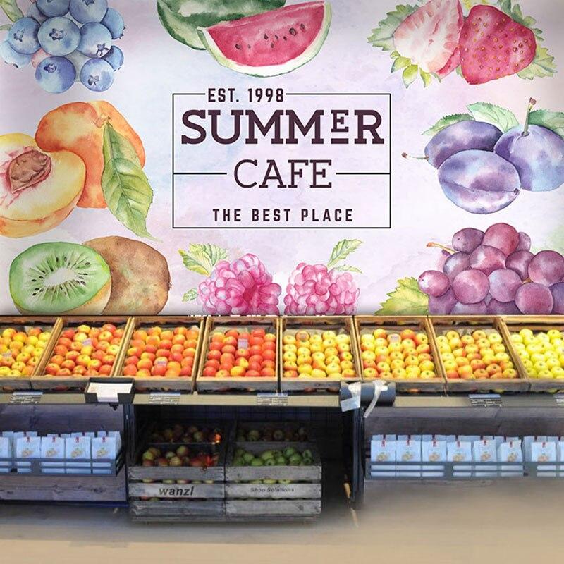 Online get cheap fruit wallpaper alibaba for Cheap wallpaper shops