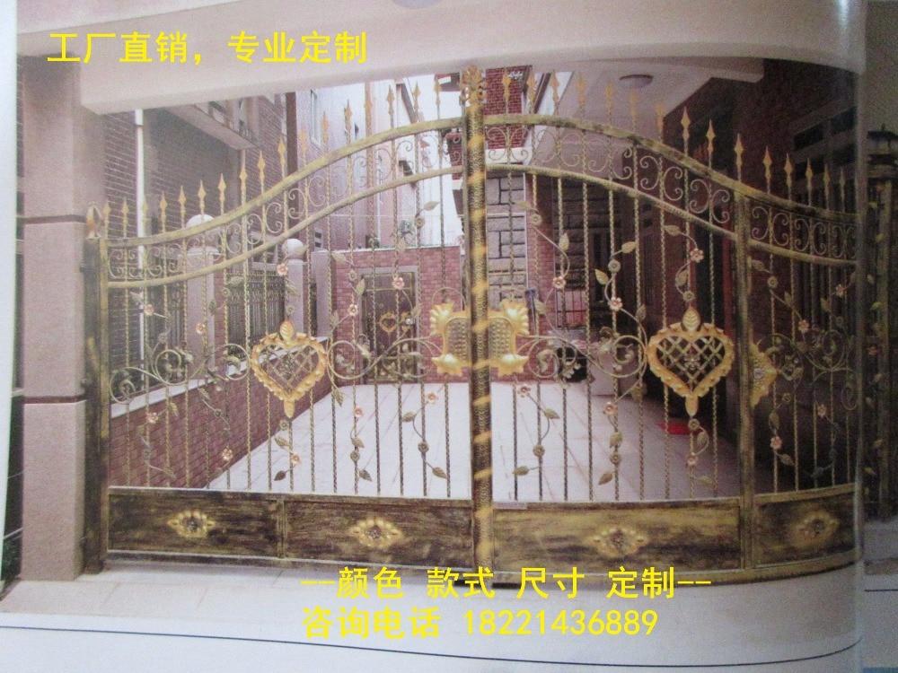 Hench 100% Handmade Forged Custom Designs Steel Gates Hc-g42
