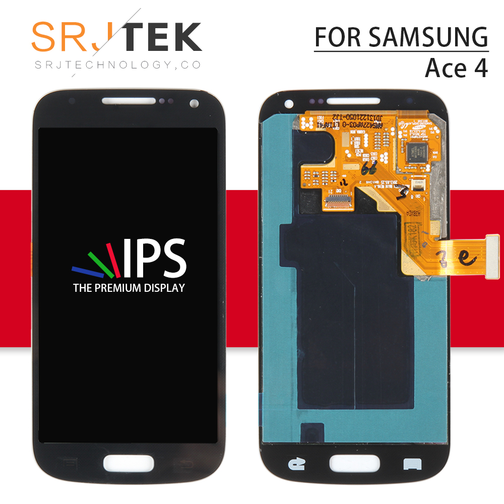 Srjtek 4.3'' For Samsung Galaxy Ace 4 SM G357 Display Touch For Ace 4 G357 Screen Digitizer Panel Assembly For Samsung Ace4 LCD
