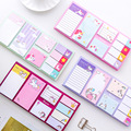 Cartoon Unicorn Dream Memo Pad N Times Sticky Notes Memo Notepad Bookmark Gift Stationery