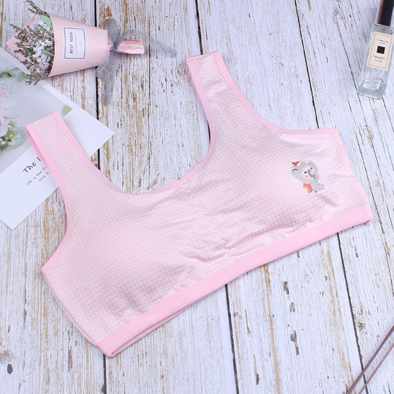 Girls Bras Soft Young Children Bra For Kids Teenagers Training Small Vest Teenage Underwear Puberty Clothing