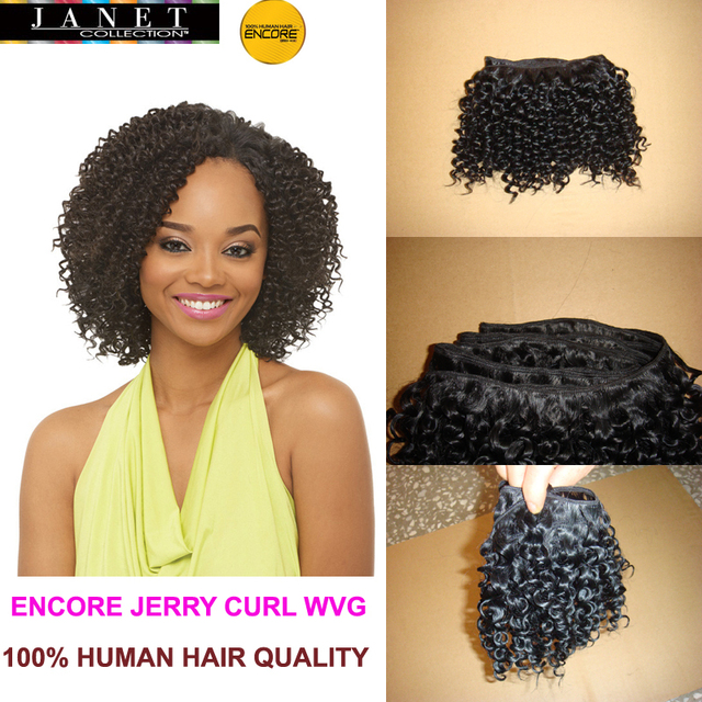 Online shop 10 pieces janet collection encore jerry curl weaving 10 pieces janet collection encore jerry curl weaving blended hair weave 100 real hair quality 11b2 8 18 curly extension pmusecretfo Image collections