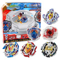 Spinning Top Beyblade Burst Set 6 Bayblades+2 Launchers+2 Handles+1 Plastic Arena Metal Fusion 4D With Box Toys For Children #H