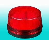 Мини-красная Стробоскопическая сирена внутренняя наружная Проводная сигнальная сирена со стробоскопической вспышкой 12 В постоянного тока...