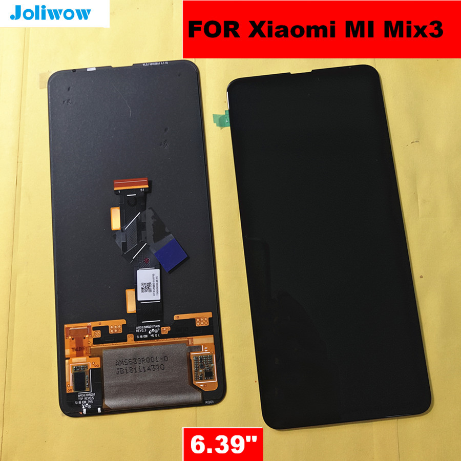 6 39 AMOLED FOR Xiaomi Mi MIX3 Mi Mix 3 LCD Display Touch Screen Digitizer Replacement
